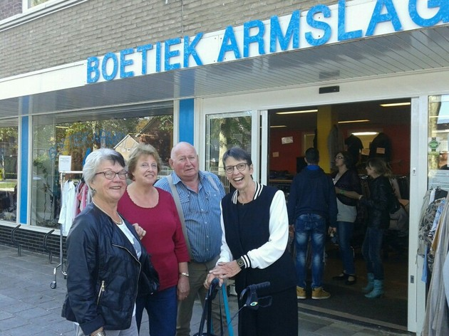 Bezoek Jetta Klijnsma - Stichting Armslag Stadskanaal