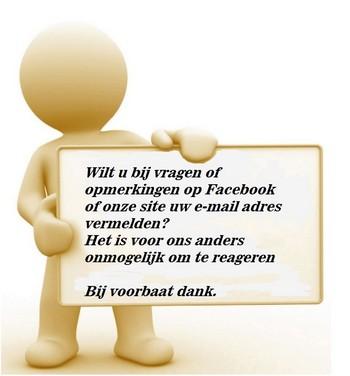 Denk om uw e-mailadres Stichting Armslag Stadskanaal