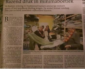 3 jaar Boetiek Armslag Stichting Armslag Stadskanaal