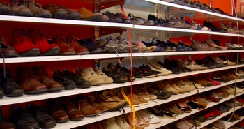 Ruime schoenenkeuze Stichting Armslag Stadskanaal